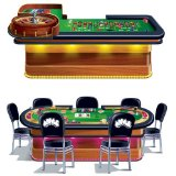 5' Roulette & Poker Tables Casino Wall Add-Ons
